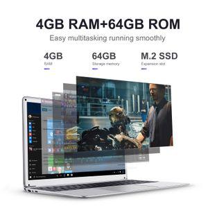 a buon mercato all'ingrosso pollici laptop portatili 15,6 Computer 4G RAM SSD da 64GB ROM IPS gioco portatile Schermo Con Windows 10 OS Ultrabook