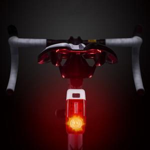 Велосипед Tail Light Night езда безопасности Предупреждение Задний фонарь Велоспорт мигающие задние фонари Водонепроницаемый велосипед аксессуары