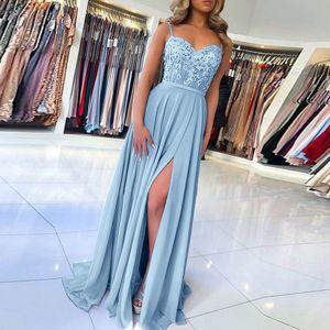 Sexy Vestidos De Fiesta Lace Suspended Solid Long Dress Women Elegant Party Night Club Sundress longo vestido de festa z0625