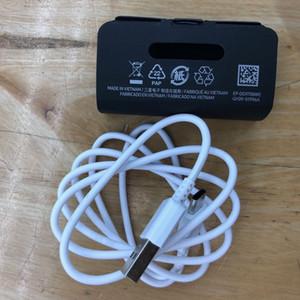 OEM USB شاحن نوع C كابل للحصول على سامسونج غالاكسي ملاحظة S10 10 2A الانتاج 1M Typec دعم الشحن السريع أسود أبيض