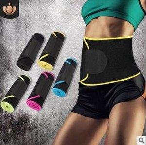 Nouveau Fitness Ceintures Réglable Colore Chaleur Sports Ventilation COMPRESSION Taille Bande Body Sculpting Minceur Taille Ventre Shaper HA226