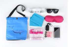 디자이너 - 세 - 차원 방수 패키지 다이빙 수영 온천 주머니가 가방을 휴대 전화 드라이 저장 여행 드리프트