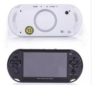 8 GB X9 jugador Handheld del juego de 5 pulgadas de pantalla grande consola de juegos portátil MP4 Player con cámara de vídeo Salida de TV TF para GBA juego de NES