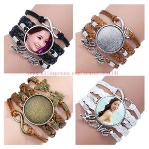 bracciali sublimazione per le donne regali personalizzati moda tessono braccialetto tranfer stampa calda di gioielli in bianco 15pcs di consumo / lot
