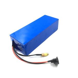 Бесплатная доставка Высокое качество аккумуляторная 52 В 20ah Ebike аккумулятор для 500 Вт до 1500 Вт двигателя + зарядное устройство