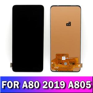 exibição original Incell de alta qualidade Para Samsung Galaxy A80 A805 A805F LCD Touch Screen digitador