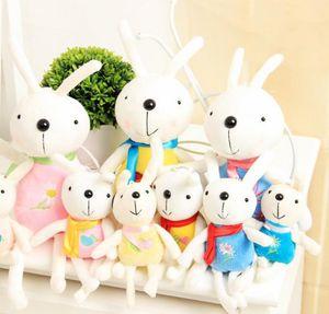 pingente de coelho de pelúcia chaveiros bonito dos desenhos animados coelho boneca de pelúcia brinquedos animais encantadores decorações da sala de saco de 12 centímetros 17 centímetros 22 centímetros 32 centímetros