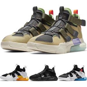 Mens New Edge 27C Полезность кроссовки Проект Мужской спортивный Chaussures АКРОНИМ Men Тройной Black Корзины тапки AQ8764-200 AQ8764-003