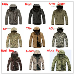HOT TAD V 4.0 Men Outdoor Hunting Camping Waterproof Windproof Jacket Hoodie Soft Shell Jacket