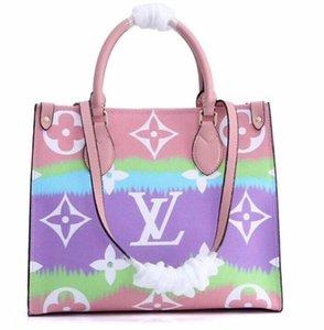 2020 Nuevo bolso de diseñador para la venta de verano onthego escale Tie Dye Tote de lujo para mujeres bolso monederos diseñador Pastel Tote Escale Collection