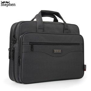 New Business Briefcase Laptop Bag Oxford Cloth Multifunction Waterproof Handbags Business Portfolios Man Shoulder Travel Bags Y19051802