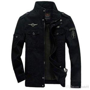 için nakış erkek ceket dış giyim Erkekler Ordusu ceketler büyük beden 6XL Sıcak maliyeti