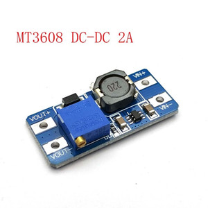 Consumer Electronics MT3608 DC-DC Step Up Converter Booster Power Supply Module Boost Step-up Board MAX output 28V 2A For Uno