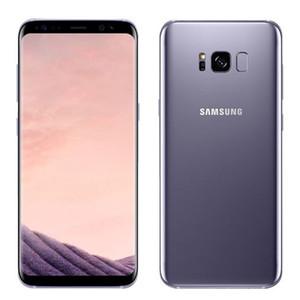 Desbloqueado Original remodelado como novo Samsung Galaxy S8 US / câmera global versão 4GB RAM Android OS 12MP
