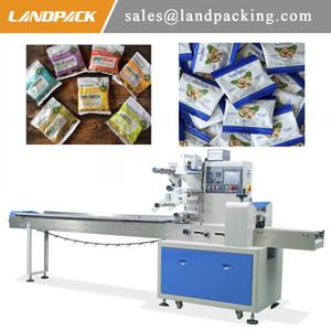 Çok fonksiyonlu Otomatik Badem Kuruyemiş Paketi Yatay Wrap Makine Kuruyemiş Meyve Yastık Poşet Ambalaj Makinası