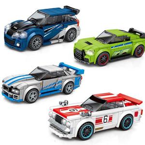 Sembo Super Race Car City Champions gran carrera de vehículos de construcción Bloques Kits de deportes de F Técnica con la caja de color original