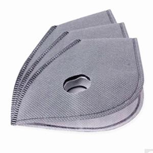 Máscara facial de ciclistas livres da DHL MTB Equipamento de ciclagem rodoviária anti-poeiras PM2, 5 substituição por filtro de carbono activo protecção