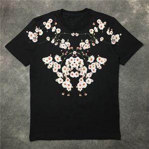 20SS Mens Fashion T Shirts Hip Hop Short Sleeve Suitable Men Women Print Black T Shirt Size S-2XL