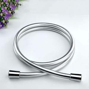 Alta Pressão PVC Prata Preto PVC Suave Mangueira de chuveiro para o banho Handheld Chuveiro flexível Chuveiro Hose