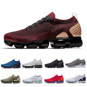 Nike air vapormax 2.0 shoes Laser Orange VPM 2.0 running shoes Zebra man Hot Punch men women Team University Red Neutral Olive Chrome trainer Zebra sports sneakers