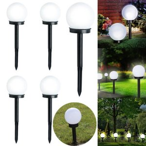 Garden Light Waterproof LED Solar Power Lamp Outdoor Lamps Decorative LawnLandscape Waterproof Spot Bulbs 2pcs Decorations Patio, Lawn
