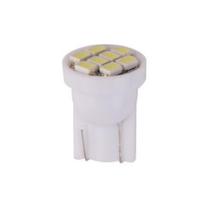 100x Super Brihgt Bombilla LED blanca T10 W5W Interior del coche luz de techo 12V Liquidación automática Matrícula Instrumentación lámparas de lectura 5W5