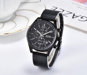 2020Luxury JEFE DE ROBLE reloj jefe de reloj de cuarzo reloj de los hombres de moda casual todas las funciones pueden trabajar