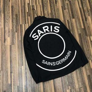 Brasão Homens Jackets Womens Outwear Arrefecer França Star Vestindo Unlined Garment Designer Mulheres Homens Moda Jacket Atacado Tamanho S-2XL
