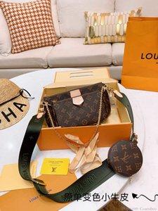 1wan Kadınlar Moda Deri Zincir Messenger çanta Çanta Omuz Crossbody Çanta
