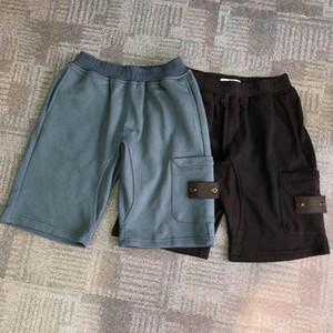 Homens de Verão calções calças Joggers calças masculinas dos homens Corredores calça azul preto sólido algodão shorts M-2XL