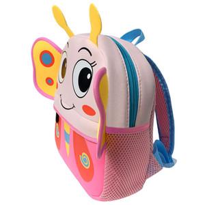 3D Cartoon Crianças animal Mochilas Brand Design Menina Meninos Backpack bebê Miúdos da escola Bags Kindergarten saco mochila escolar MX200327