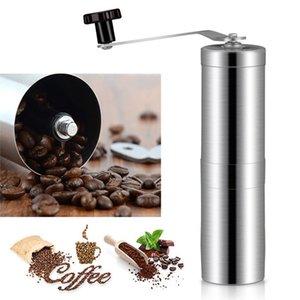 Manual Coffee Grinder Bean Molino cónico Molino Para Francés PressPortable Acero Inoxidable Pepper Mills Herramientas de Cocina WX9-1464