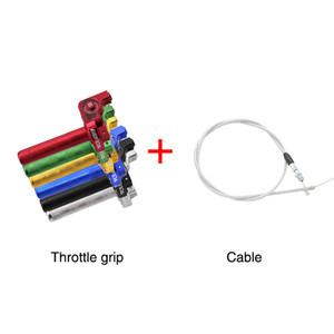 22 mmcnc Aluminum Acerbis Throttle Grip Visual Throttle Twist Grip Large Torsion Throttle Cable