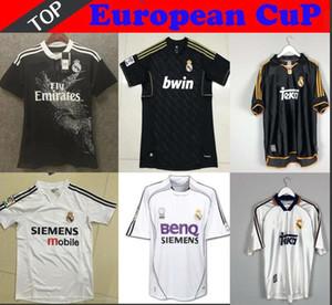 Retro 04 05 10 11 12 Real Madrid camiseta de fútbol GUTI Ramos McManaman 13 14 15 RONALDO ZIDANE Beckham 06 07 00 1999 RAUL Robinho Carlos