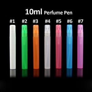 Tamax PF013-10 viaggio portatile bottiglia di profumo bottiglie spray contenitori cosmetici vuoti 10ml profumo vuoto atomizzatore penna di plastica