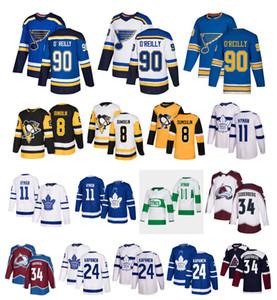 NHL St. Louis Blues 90 Ryan OReilly Toronto Maple Leafs Kasperi Kapanen 11 Zach Hyman 34 Carl Soderberg Pittsburgh Penguins Dumoulin Jersey