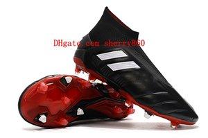 2021 Erkek Futbol Ayakkabı Predator Mania 19.1 19+ FG Yüksek Ayak Bileği Cleats Futbol Çizmeler Botas de Futbol
