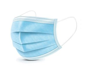 Disposable Face Mask 3 Layer Ear-loop Dust Mouth Masks Cover 3-Ply Non-woven Disposable Dust Mask Soft Breathable outdoorAnti-Pollution Mask