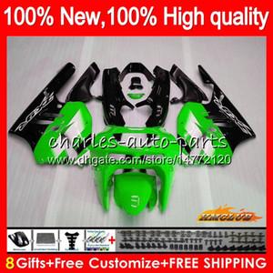 Cuerpo para Kawasaki ZX900 900 CC ZX9R 94 95 96 97 47HC.2 ZX 900 R 9 94 97 verde a la venta ZX 9R 900cc ZX9R 1994 1995 1996 1997 Kit carenado completo