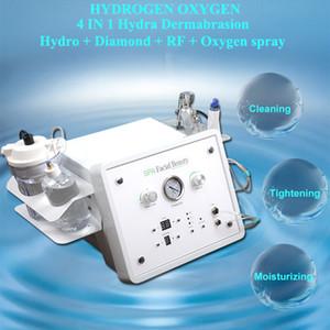 4 IN 1 Hydro Gesichts Dermabrasion Maschine Wasser Sauerstoff Jet Skin Scrubber Mikrodermabrasion Haut Tiefenreinigung Ausrüstung