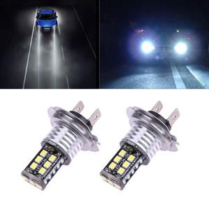 2 pcs 10 W 15SMD H7 LEVOU COB Car Cabeça Branca Lâmpadas Lâmpadas de Alta Feixe de luz de Nevoeiro Da Frente