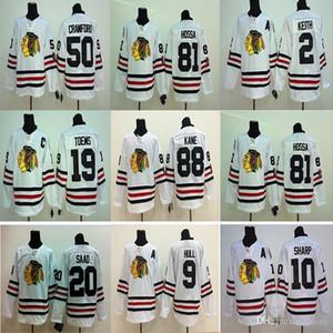 2015 Chicago Blackhawks Winter Classic branco do hóquei Jersey 88 Patrick Kane 19 Jonathan 2 Keith 10 afiada 50 Crawford 65 Shaw Jerseys