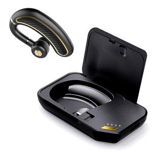 DHL SHIPPIN K21 wireless headphones Bluetooth Headset Ear Hooks Sport Earphone for phone handsfree Headphone with charger box Volume control