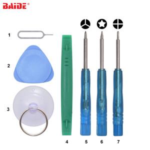 7 en 1/8 en 1 bleu Mini Outils d'Ouverture de Tournevis Avec Outils de Pry Vert Tri Wing Ph000 Phillipe P2 Pentalobe Pour iPhone Samsung
