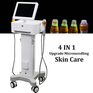 바늘 흉터 제거 여드름 치료를 체결 새로운 혁신 미세 써마지 분수 RF 기계 Microneedling 피부 활력