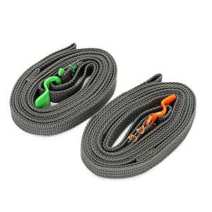 Viagem Tie Down Acessório Correias com liga de alumínio Buckle Agrupamento Corda práticos duráveis Ferramentas Thicken conveniente ao ar livre 2 8yy B