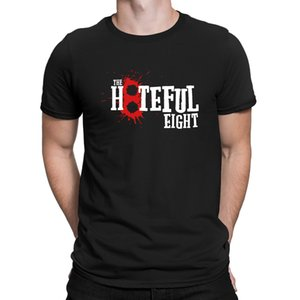 The Hateful Eight 8 Blood Tarantino Movie T-Shirts Fit Summer Style Fitted Men's Tshirt 100% Cotton Costume Tee Shirt Printed
