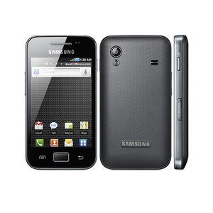 Оригинальный Samsung Galaxy Ace S5830 S5830i разблокирован 3,5 дюйма 5MP восстановленный смартфон 1350 мАч одноядерный 3G сетевой мобильный телефон