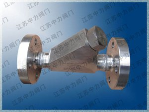 High pressure Y-type flange filter
