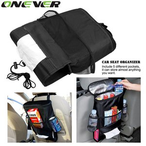 Onever assento Cuidados Car Auto Organizer Bag Holder multi bolso Arranjo Bag Back Seat Chair Car Styling Tampa Organizer